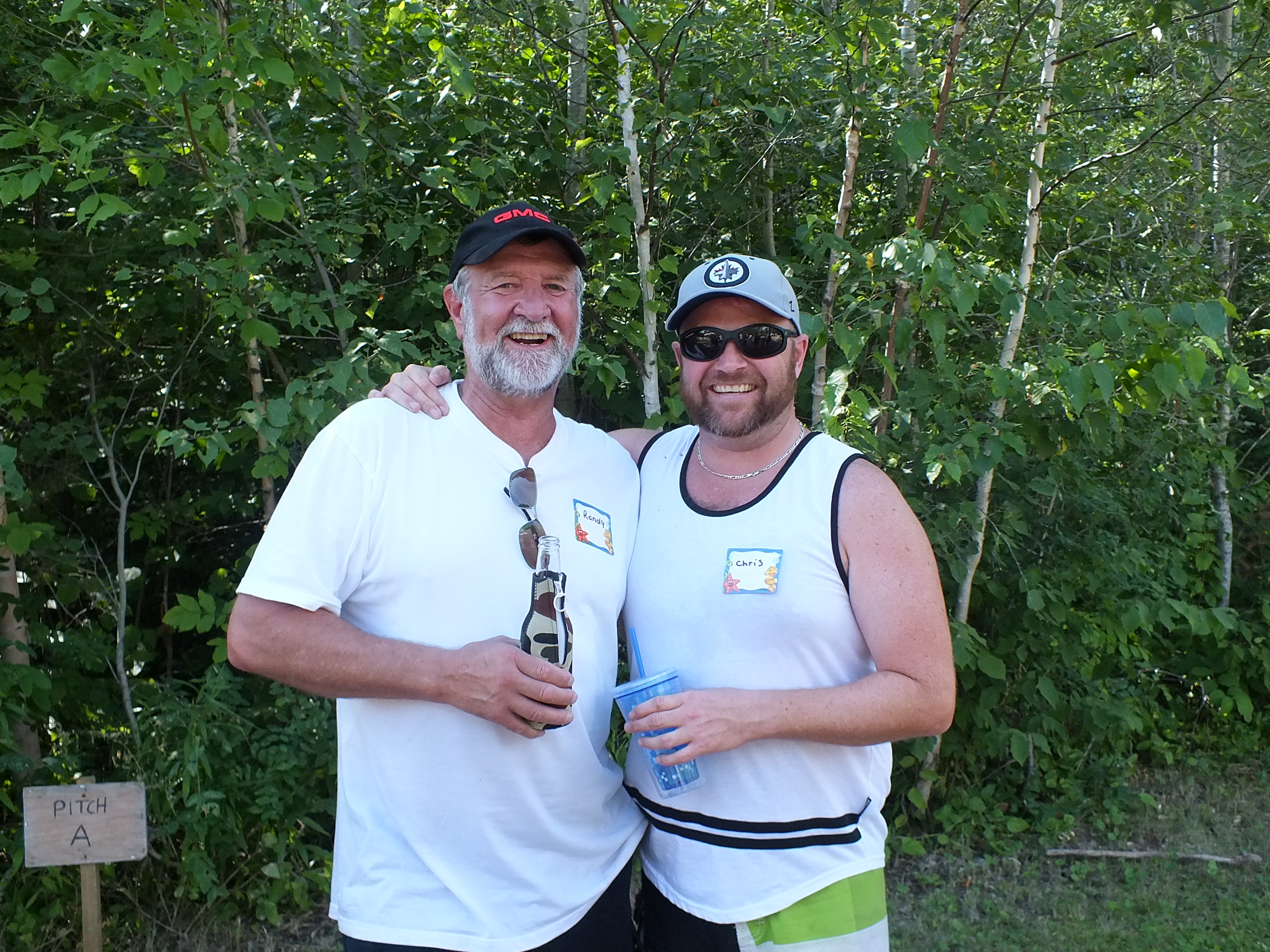 2016 horseshoe runners up - Randy & Chris