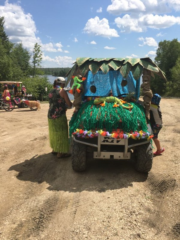 2017_Decorated Cart, 'Under the Sea'