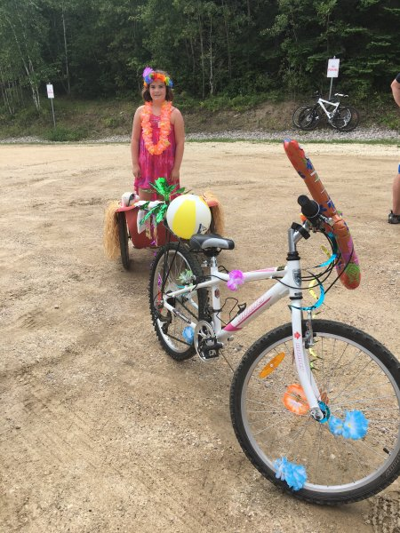 2017_Cart Contest, Bike with sandbox, first place