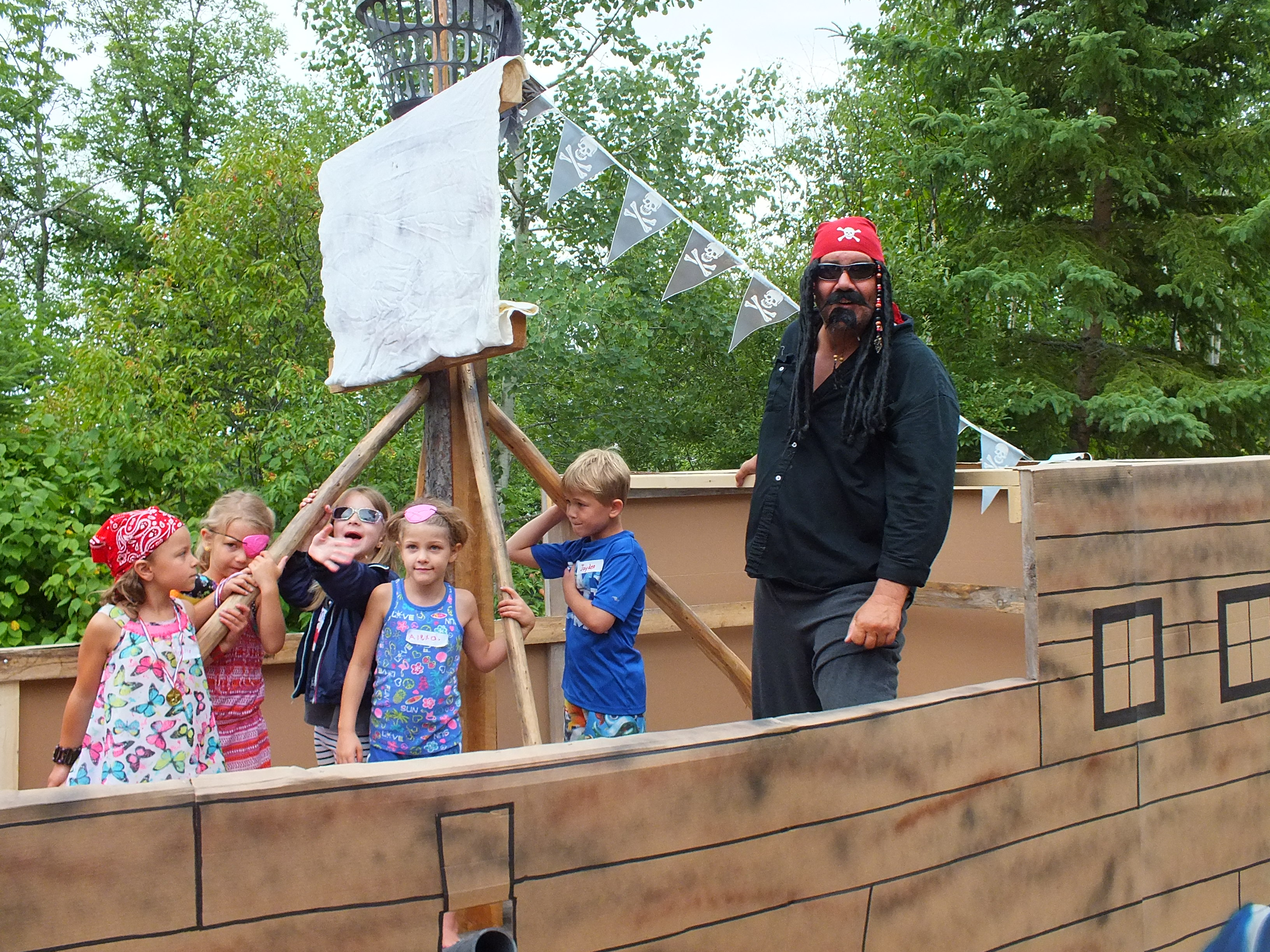 The really BIG pirate ship 2nd place 2015