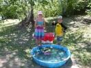 Fun at the fish pond 2016