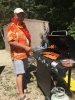 2017_Derrick cooking smokies and hot dogs