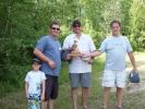 Trevor Loreth & Brad Haight won the horseshoe trophy 2014